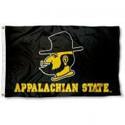 App State Yosef Mascot Flag