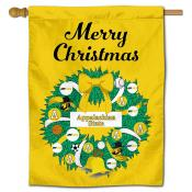 Appalachian State Mountaineers Christmas Holiday House Flag