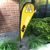 Appalachian State Mountaineers Mini Teardrop Garden Flag