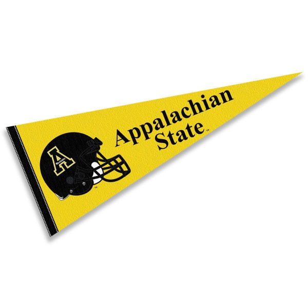 Appalachian State University Football Helmet Pennant