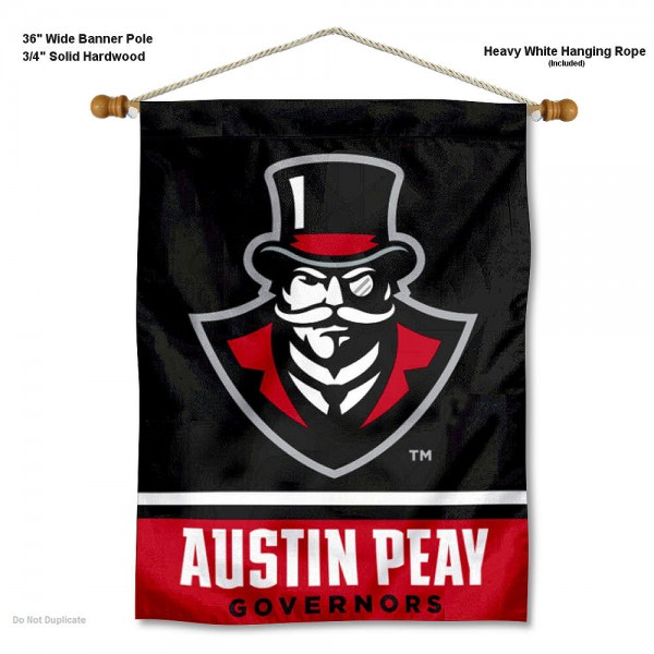 APSU Governors Banner with Pole