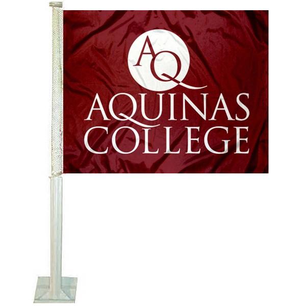 Aquinas College Car Flag