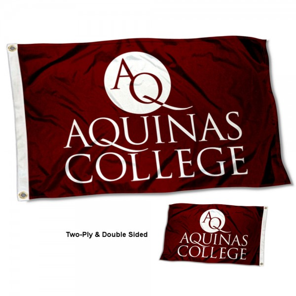 Aquinas College Two Sided 3x5 Foot Flag