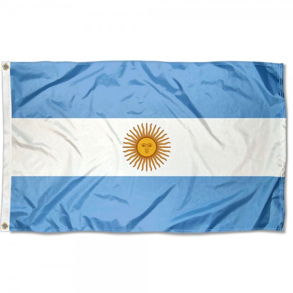 Argentina Country 3x5 Polyester Flag