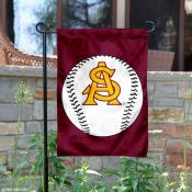 Arizona State Baseball Garden Flag