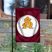 Arizona State Baseball Garden Flag