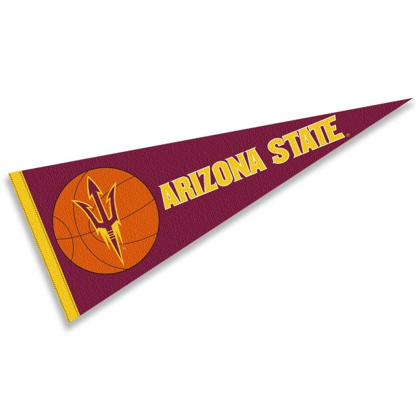 Arizona State Sun Devils Basketball Pennant