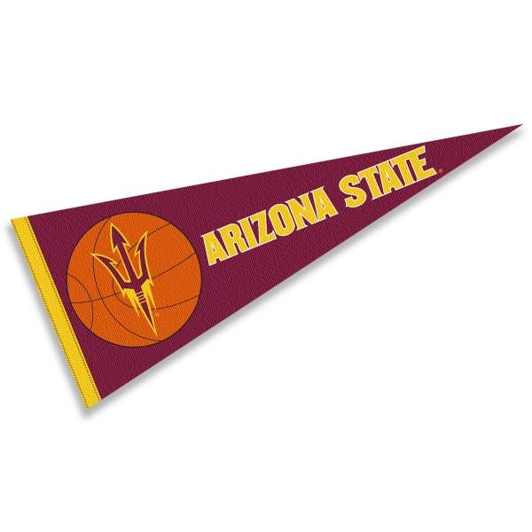 Arizona State Sun Devils Basketball Pennant