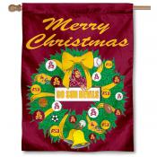 Arizona State Sun Devils Holiday Flag