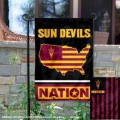 Arizona State Sun Devils Nation Garden Flag