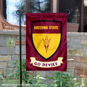 Arizona State Sun Devils Shield Garden Banner