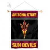 Arizona State Sun Devils Window Hanging Banner with Suction Cup