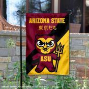 Arizona State Sun Devils Yuru Chara Tokyo Dachi Garden Flag