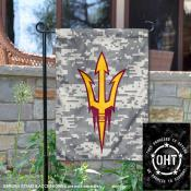 Arizona State University Operation Hat Trick OHT Double Sided Garden Flag