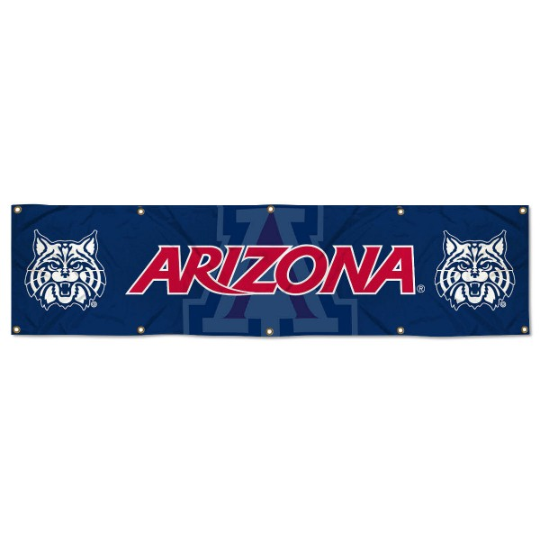 Arizona Wildcats 2x8 Banner