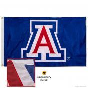 Arizona Wildcats Appliqued Nylon Flag