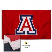 Arizona Wildcats Appliqued Nylon Flag