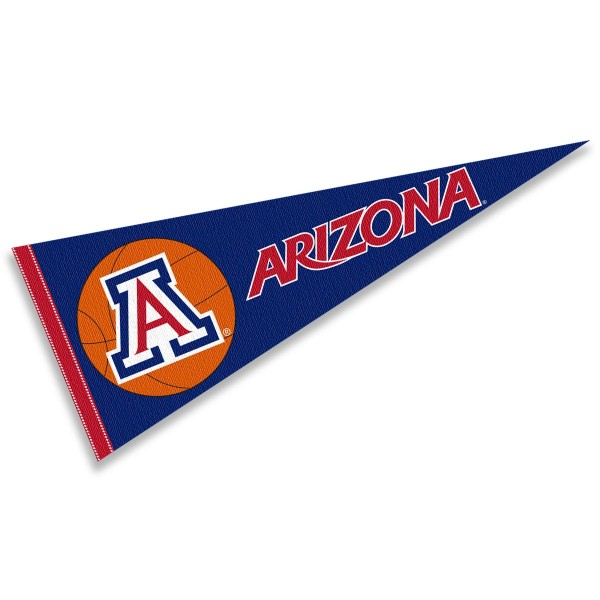 Arizona Wildcats Basketball Pennant
