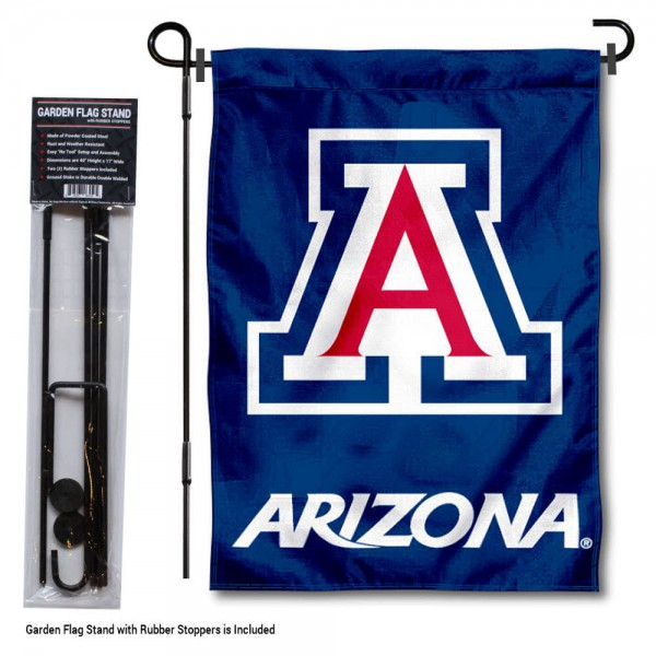 Arizona Wildcats Garden Flag and Yard Pole Holder Set