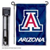 Arizona Wildcats Garden Flag and Yard Pole Holder Set