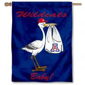 Arizona Wildcats New Baby Banner