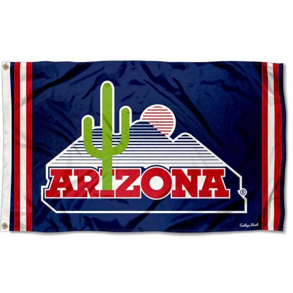 Arizona Wildcats Retro Vintage 3x5 Feet Banner Flag