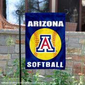 Arizona Wildcats Softball Garden Flag