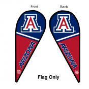 Arizona Wildcats Teardrop Flag