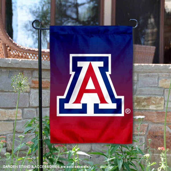 Arizona Wildcats Two Tone Garden Banner