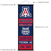 Arizona Wildcats Wall Banner and Door Scroll