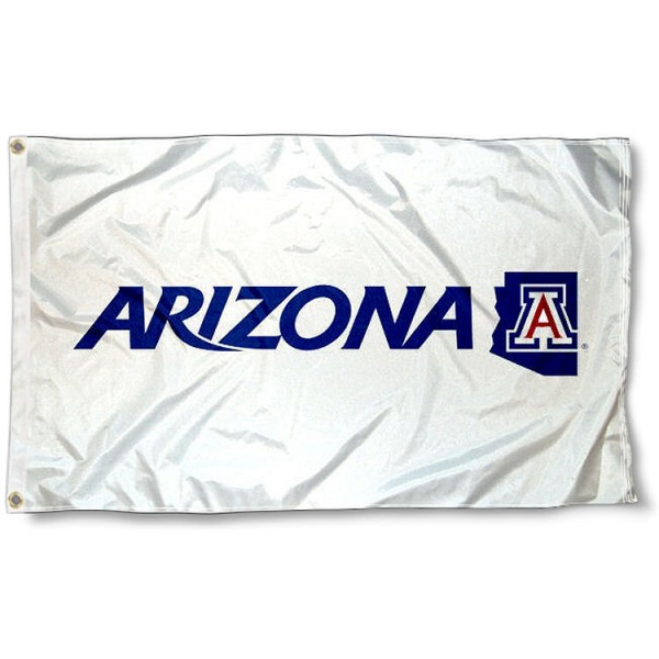 Arizona Wildcats White Flag