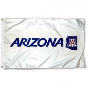 Arizona Wildcats White Flag
