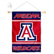 Arizona Wildcats Window Hanging Banner with Suction Cup