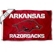 Arkansas Razorbacks 2x3 Flag