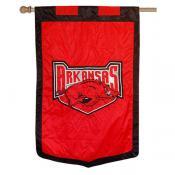Arkansas Razorbacks Banner Flag