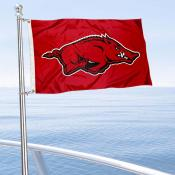 Arkansas Razorbacks Boat Flag