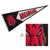 Arkansas Razorbacks Embroidered Wool Pennant