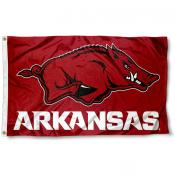 Arkansas Razorbacks Logo 3x5 Foot Flag
