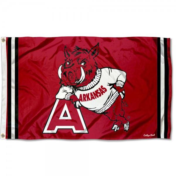 Arkansas Razorbacks Retro Vintage 3x5 Feet Banner Flag