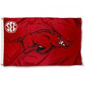Arkansas Razorbacks SEC Flag