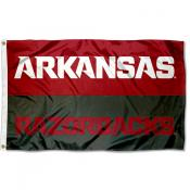Arkansas Razorbacks Split Panel Flag
