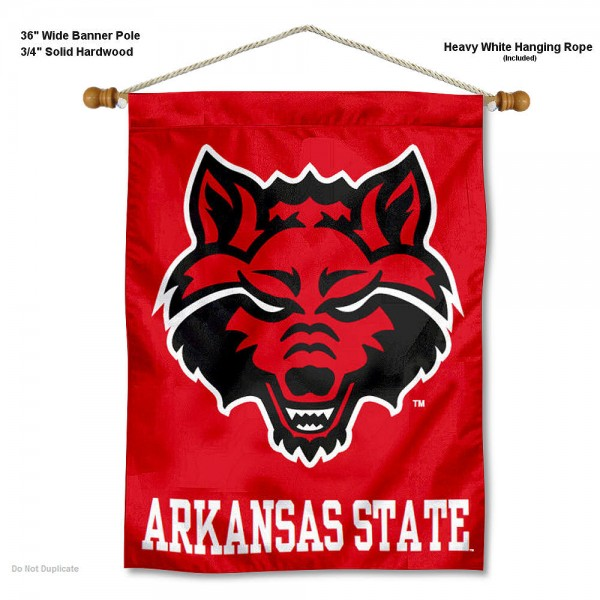 Arkansas State Red Wolves Wall Hanging
