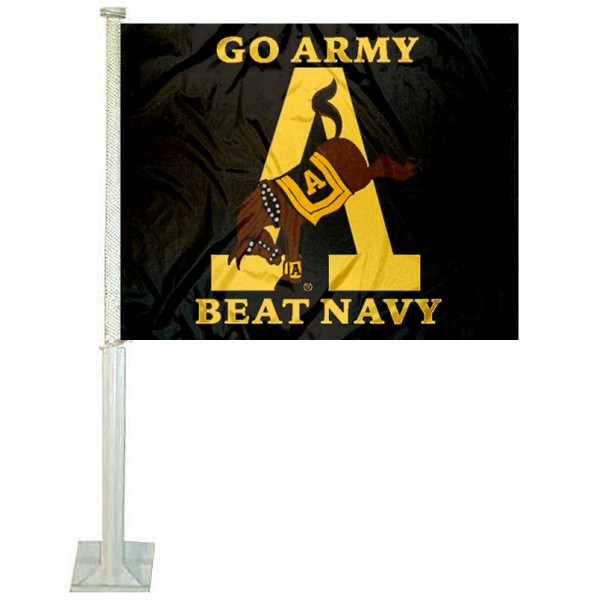 Army beat Navy Car Flag