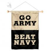 Army beat Navy Window Hanging Banner with Suction Cup