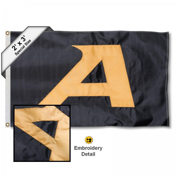 Army Black Knights 2x3 Flag