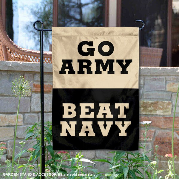Army Black Knights Beat Navy Garden Flag
