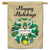 Army Black Knights Christmas Holiday House Flag