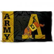 Army Black Knights Mule Flag