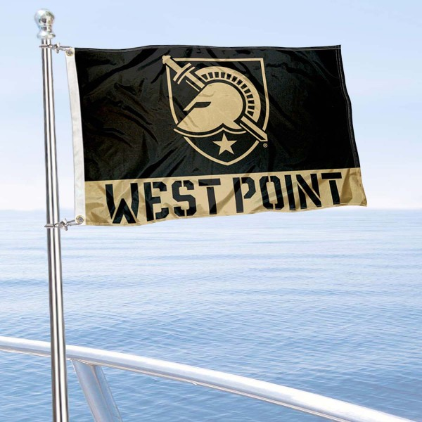 Army Black Knights Nautical and Golf Cart Flag