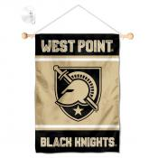 Army Black Knights Window Hanging Banner with Suction Cup
